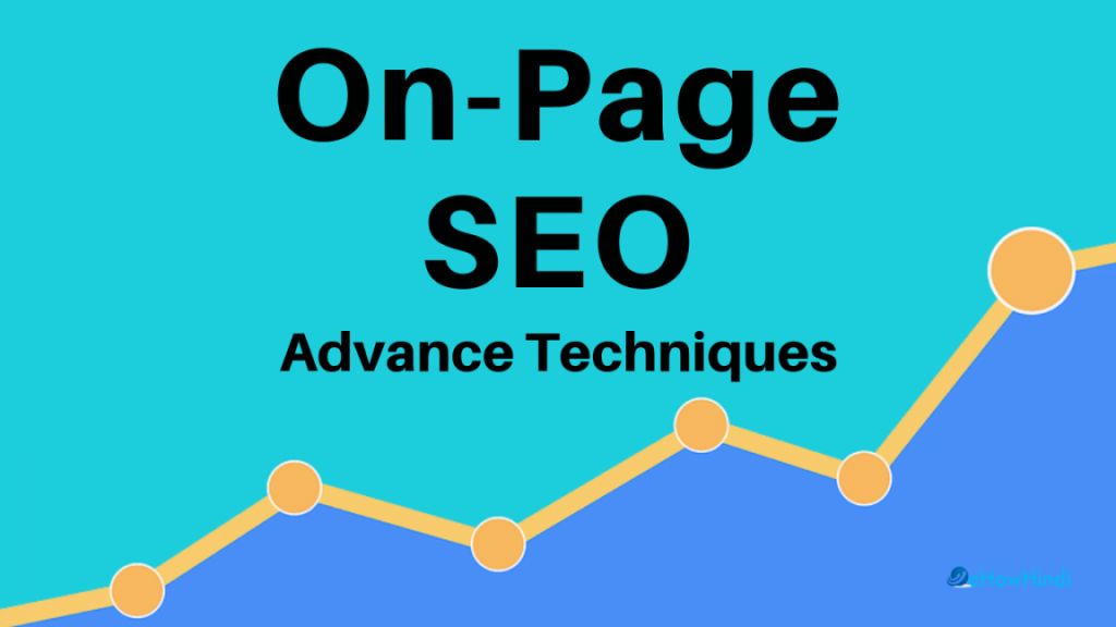 Best On page SEO Advance Techniques in hindi